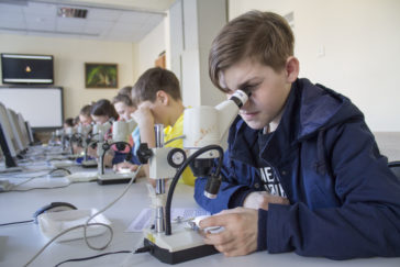 Байкальский музей. Микроскопы